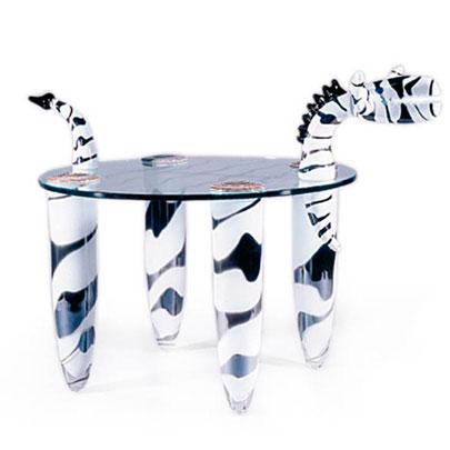 Borowski Glass Side Tables