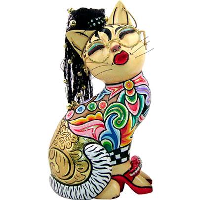 Figuras de Gatos de Toms Drag