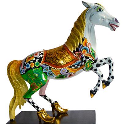 Toms Drag Horse Figures