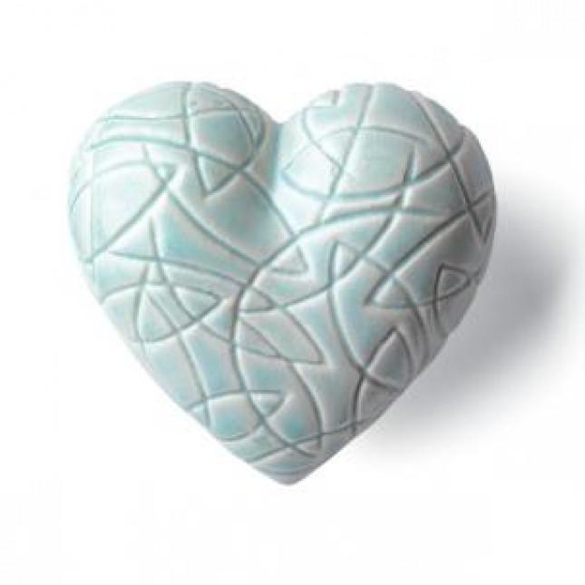 DenzHerz OCEAN Porcelain heart-313