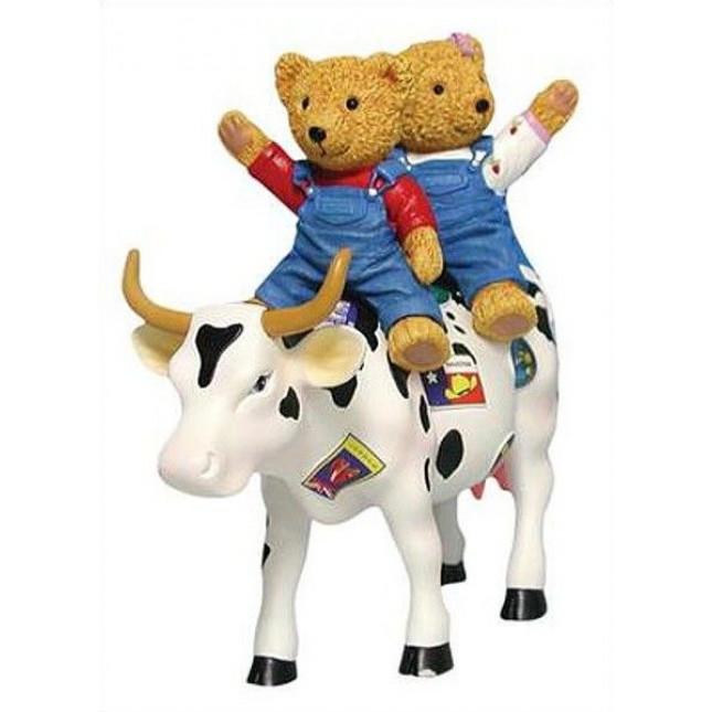Cow Parade TEDDYBEARS ON THE MOOVE Cow-3139