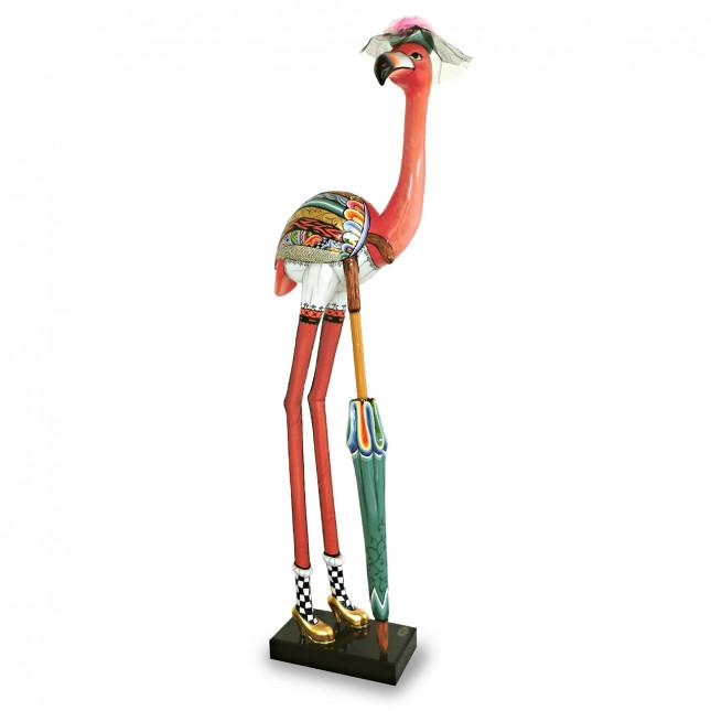 Toms Drag Sculpture Flamingo LADY FELICITY XL-319