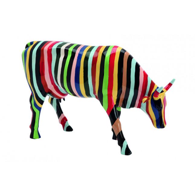 Cow Parade COW Striped-3110