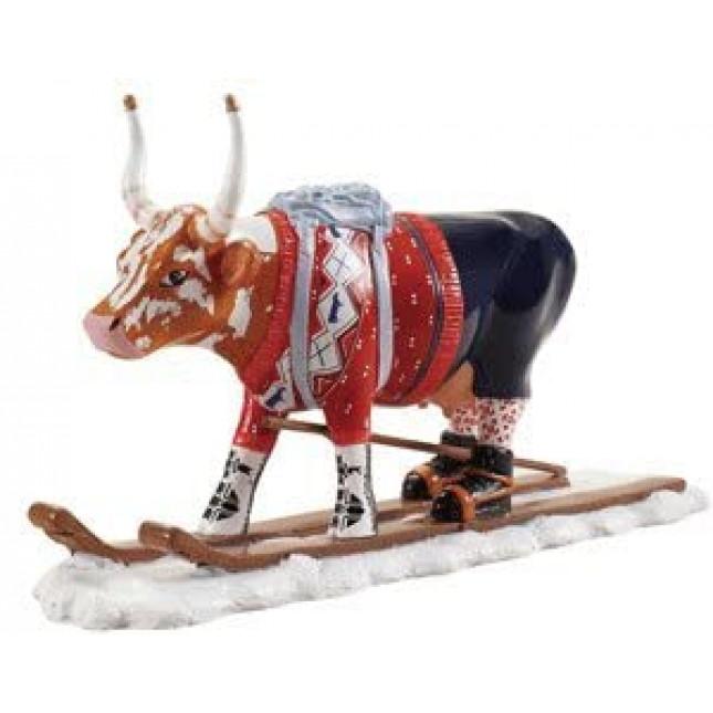 Cow Parade THE SKI COW AKA LOYPELIN LAUSLAM Cow-3150