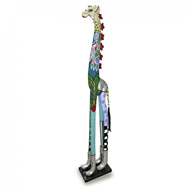 Toms Drag Silver Line Giraffe Sculpture ROXANNA-31