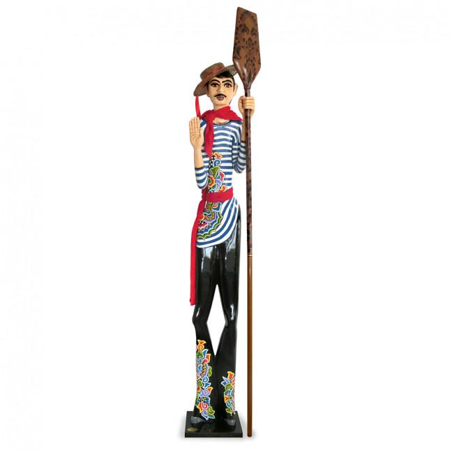 Toms Drag Gondolier Sculpture EMILIO-37