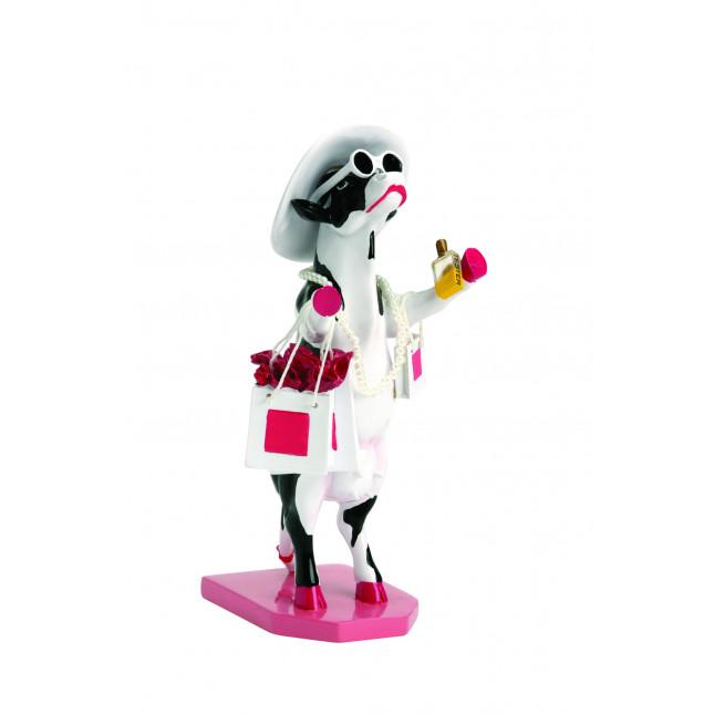 Cow Parade COW Alphadite Goddess of Shopping M-3107