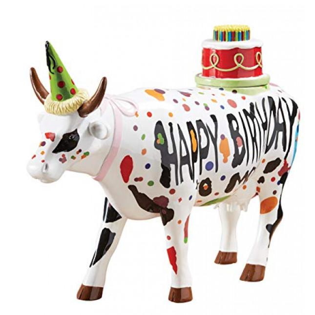 "Cow Parade COW ""Happy birthday""-3109"