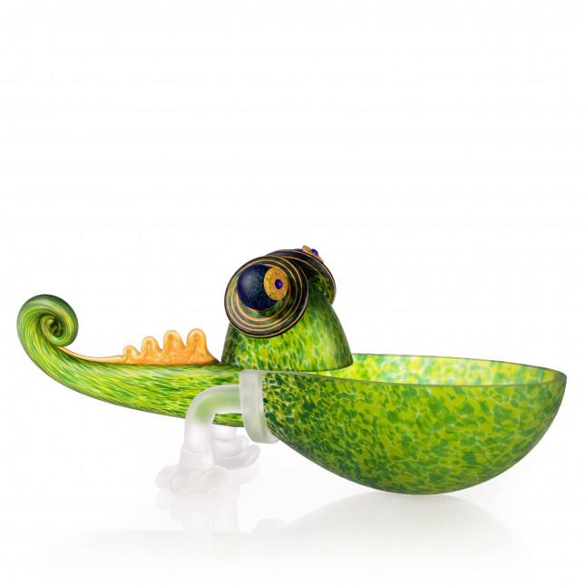 Borowski CHAMELEON SMALL Bowl Glass Art-313
