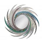 Toms Drag Mirror ENERGY Silver Line M-20