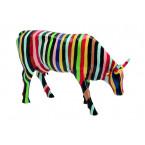 Cow Parade COW Striped-20