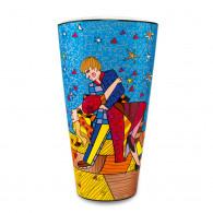 Romero Britto Porcelain Vase HOLLYWOOD ROMANCE 50cm-20
