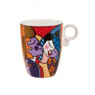 Romero Britto Porcelain Mug KISSING-20