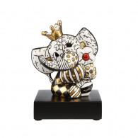 Romero Britto Porcelain Figure Gold SPRING ELEPHANT 13,5cm-20