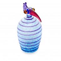 Borowski Table Lamp Amber Glass Art VOGEL-20