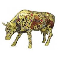 Cow Parade COW Golden Byzantine-20