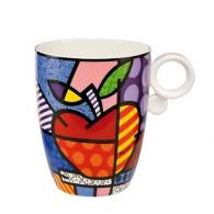 "Romero Britto Porcelain Cup ""BIG APPLE""-20"
