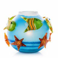 Borowski AQUA Table Lamp Glass Art-20