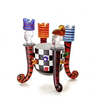 Borowski CHESS BOWL Glass Art-20