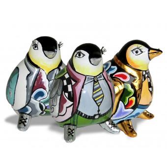 Toms Drag Set of 3 Penguins S-20