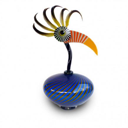Fernando Agostinho MANDARIN Glass Sculpture-20