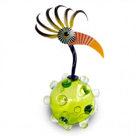 Fernando Agostinho Green BILLES Glass Sculpture-20