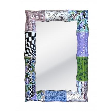 Toms Drag Mirror BAMBOO Silver-20