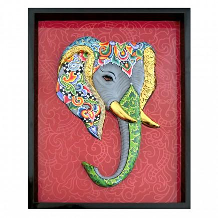 Toms Drag Elephant 3D Relief-20