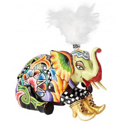 Toms Drag Elephant Figure SOLIMAN L-20