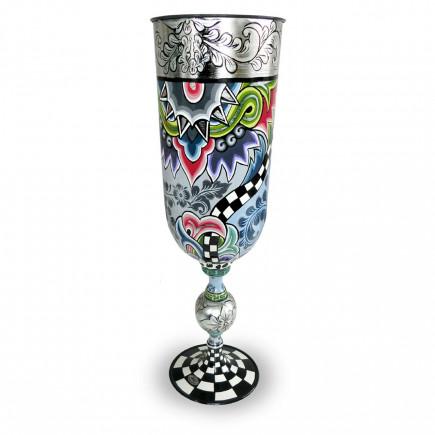 Toms Drag Vase XL Silver Line-20