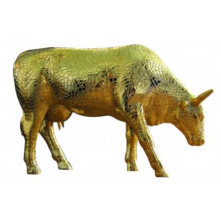 Cow Parade COW Mira Moo Gold-20