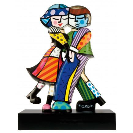 Romero Britto Porcelain Figure CHEEK TO CHEEK-20