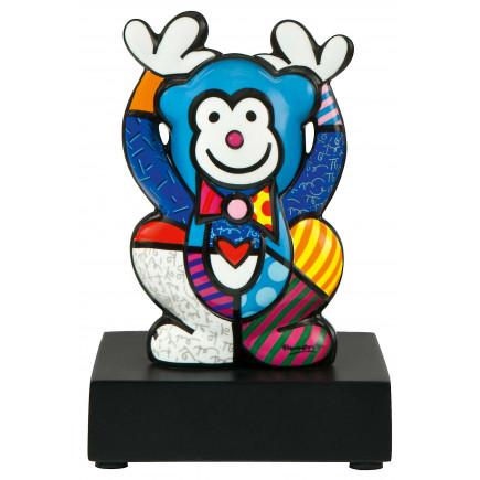 Romero Britto Porcelain Figure MONKEY BLUE 13,5cm-20