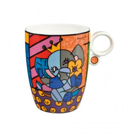 Romero Britto Porcelain Mug BALLET DANCER-20
