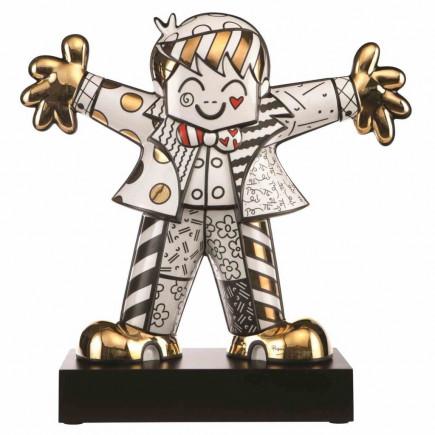 Romero Britto Porcelain Figure Gold HUG TOO-20