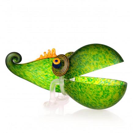 Borowski Chameleon Big Bowl Glass Art-20