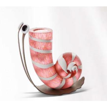 Borowski SLOW JIM Vase Glass Art Pink-20