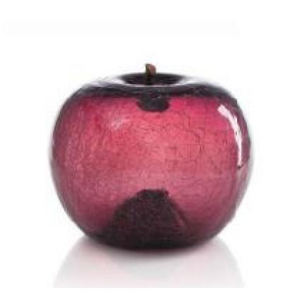 Bull Stein Crackled Amethyst Glass Apple M-20