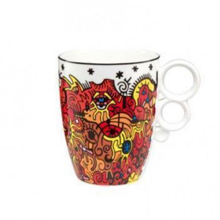 Billy the artist Porcelain Mug Celebration Sunrise-20