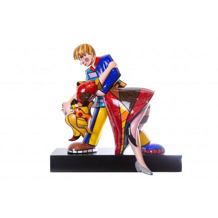 Romero Britto Porcelain Figure HOLLYWOOD ROMANCE-20