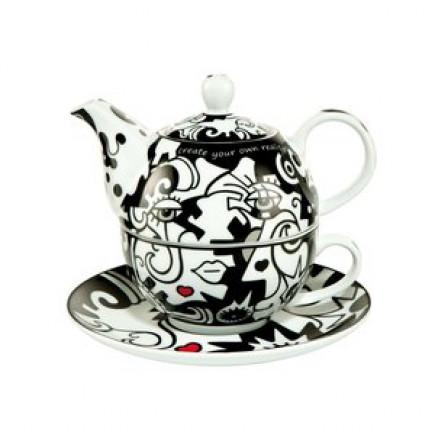 Billy the artist Porcelain Tea Set 2 in 1-20