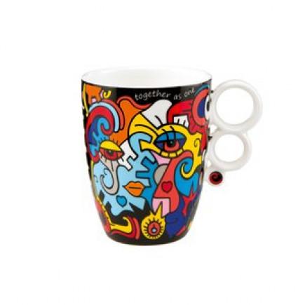 Billy the artist Porcelain Mug TOGETHER-20