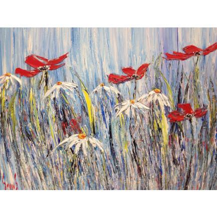 Swell Wild Daisies V 120 x 99 cm-20