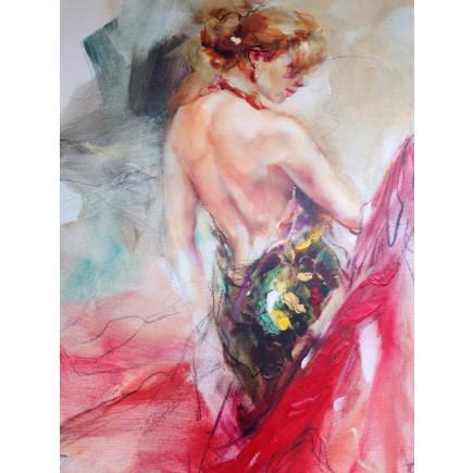 Sekretza Elegant Muse I 45 x 60 cm-20