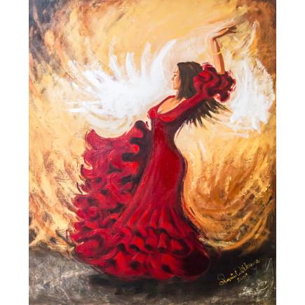 Sekretza Flamenco Andalucía 80 x 100cm-20