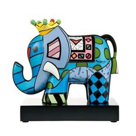 Romero Britto Porcelain Figure SPRING ELEPHANT 3-20
