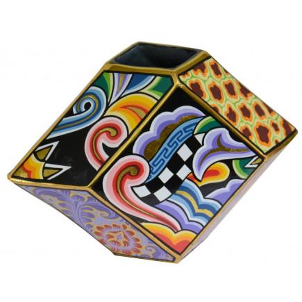 Toms Drag Cubist Style VASE L-20