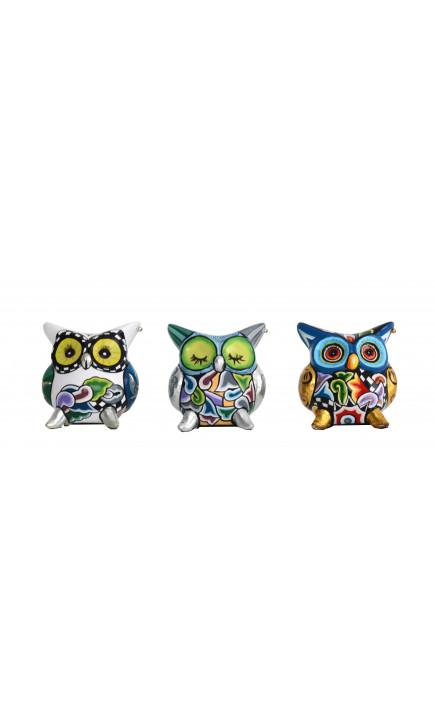 Toms Drag Set of 3 OWLS S-20