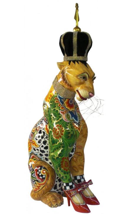 Toms Drag Leopard Sculpture ROY-20