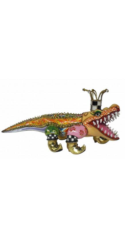 Toms Drag Alligator Sculpture FRANCESCO XL-20